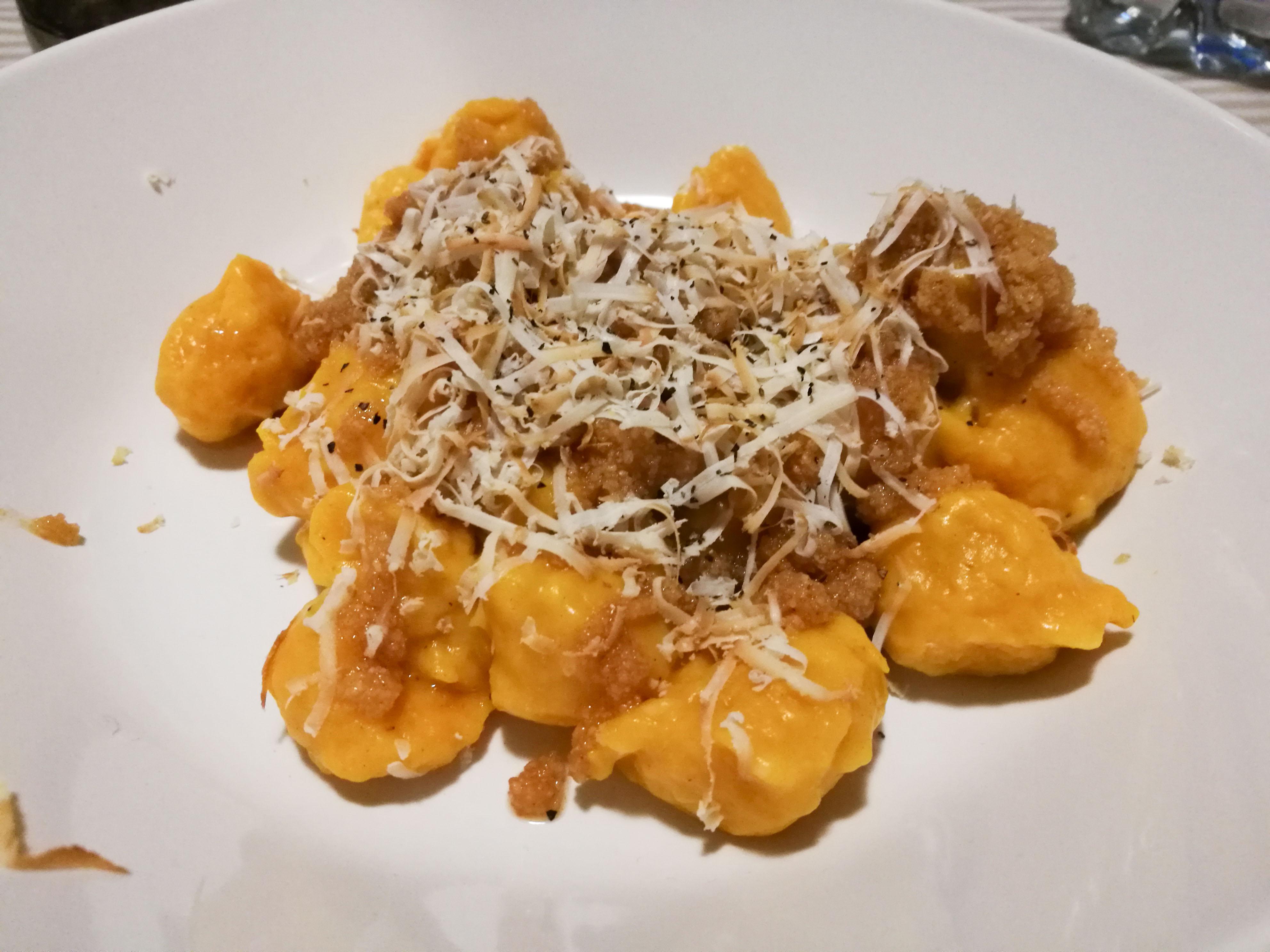 Ricette Bimby Gnocchi Zucca.Gnocchi Di Zucca Al Cucchiaio Bimby Mamma In Pasta